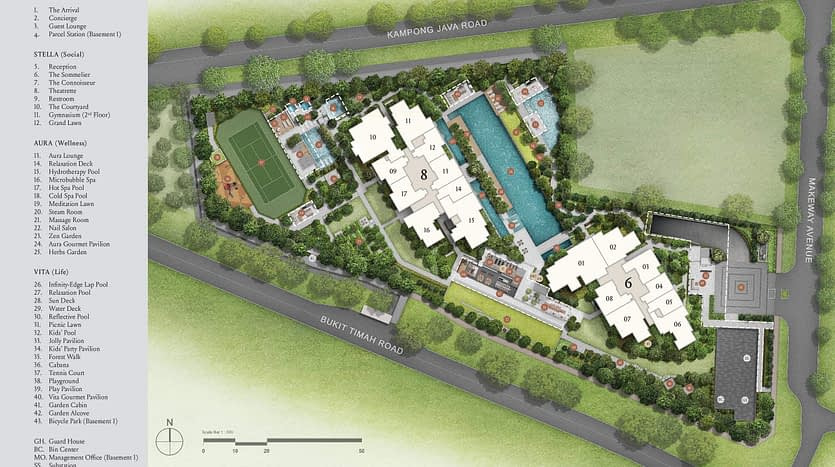 Kopar at Newton | Site Plan