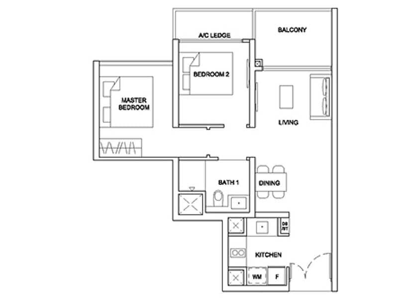 Stirling Residences Floor Plan