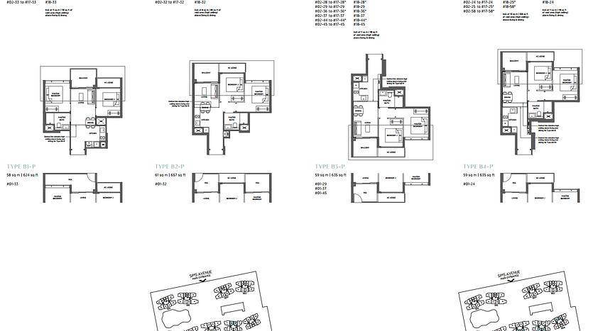 Parc Esta Floor Plan