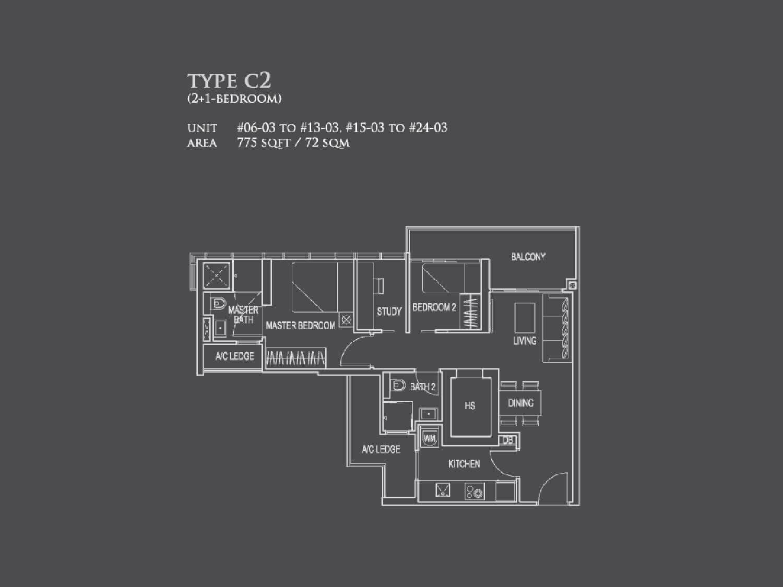 26 newton - Type C2
