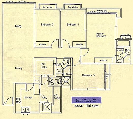 Bishan Loft floor plan